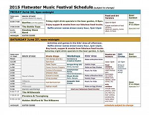 2015 flatwater music fest sched