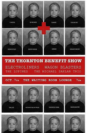 thornton benefit show poster