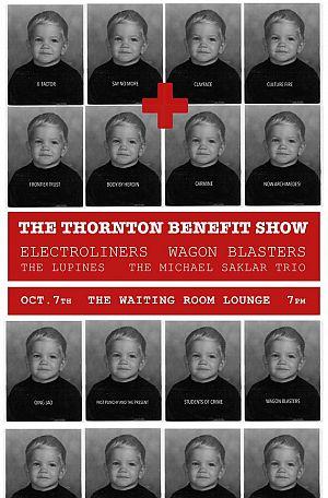 thornton benefit show poster