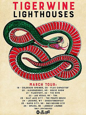 tigerwine-lighthouses tour poster