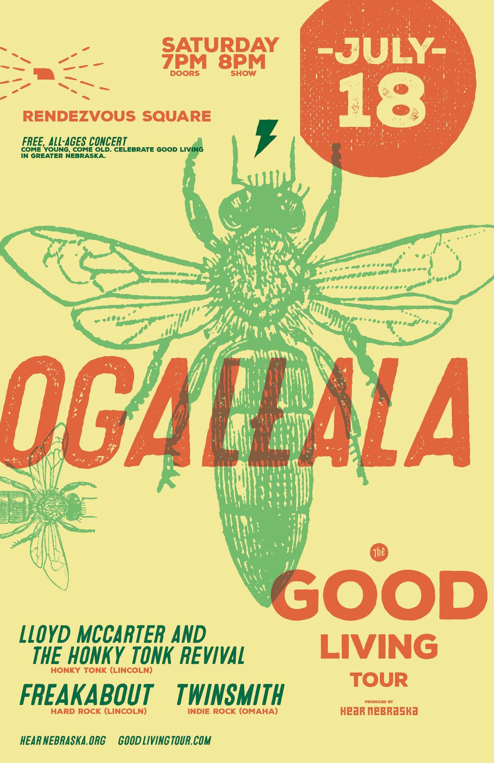 the good living tour produced by hear nebraska