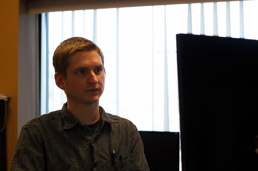 KZUM programming manager Ryan Evans
