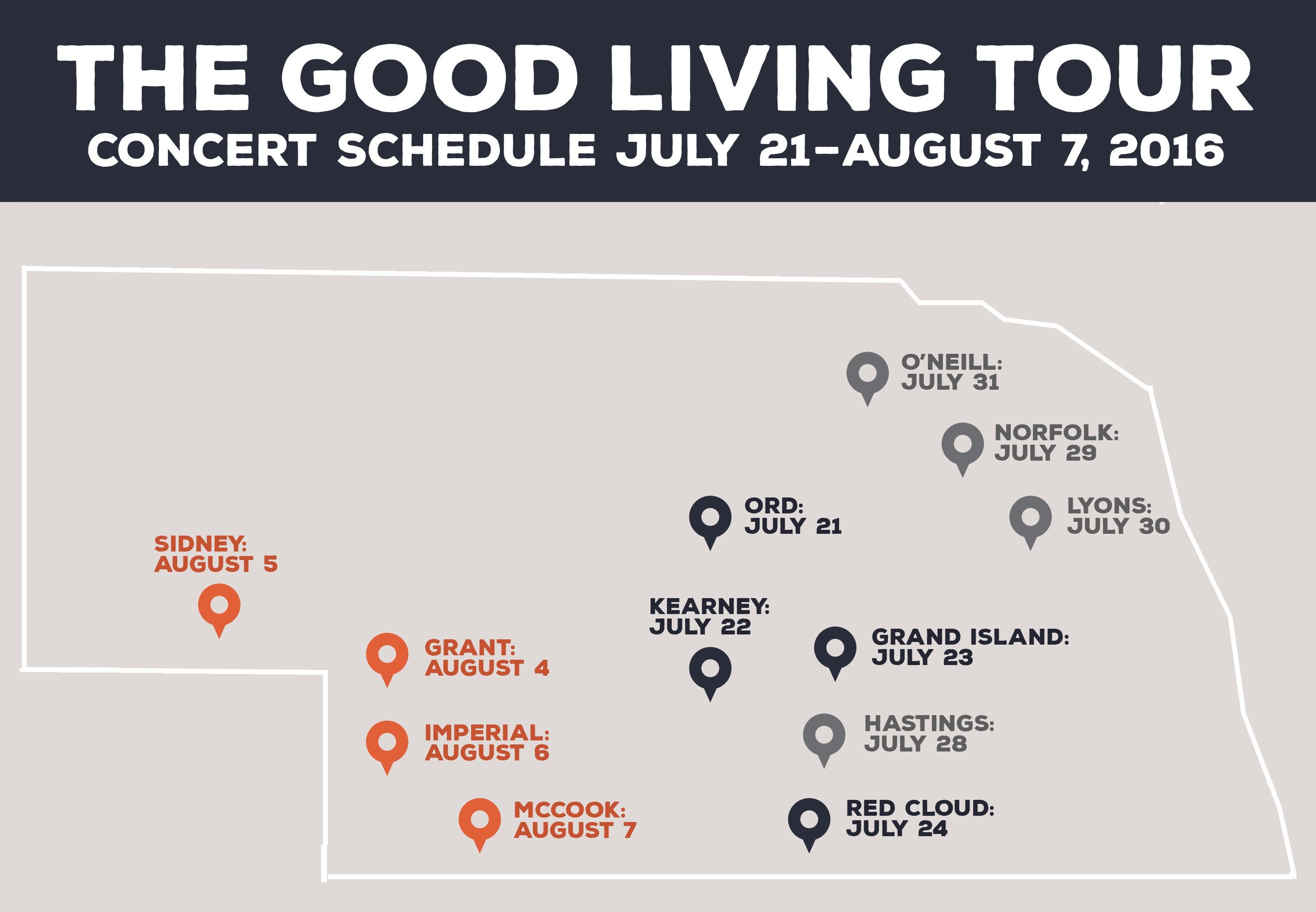 The Good Living Tour Starts Today Omaha Ranked 22nd Lincoln 35the