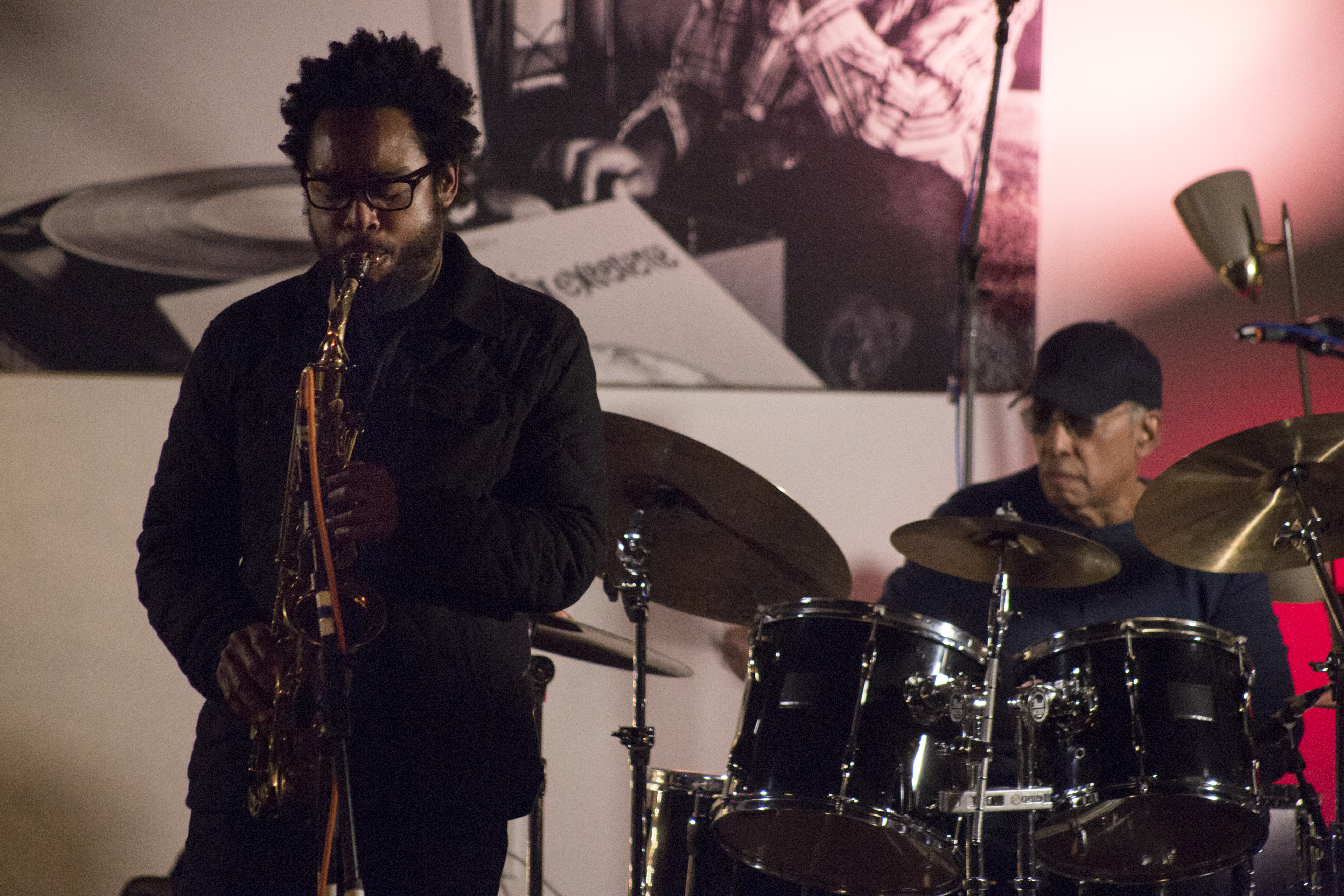 Photo coverage of terrace martin at hi fi house more from for Terrace martin