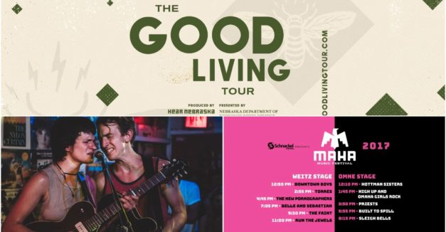 afc1164939cb1a The Good Living Tour heads to Red Cloud  Maha Music Festival reveals  schedule of bands  Film Streams announces two summer film series lineups   ...